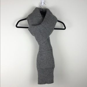 Topman Design Limited Edition Knit Scarf in Grey